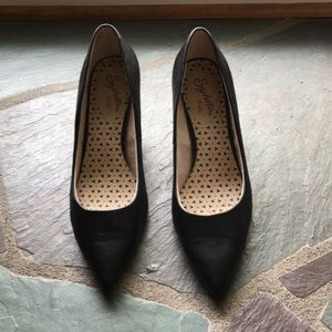 Seychelles Black 3 inch Heels